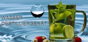 Wasser selber herstellen mit Wasserdestilliergerät