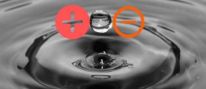 Ionisiertes Wasser herstellen und trinken